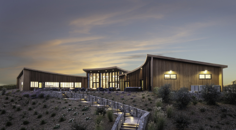 The new Bouchaine Visitor Center in Napa Valley's Carneros. (Photo: Business Wire)