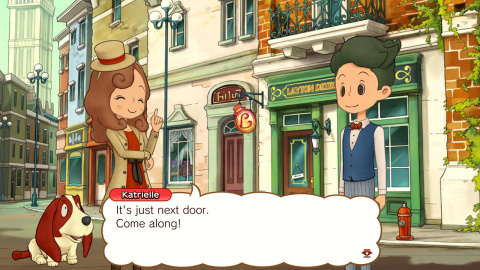LAYTON'S MYSTERY JOURNEY: Katrielle and the Millionaires' Conspiracy – Deluxe Edition will be available on Nov. 8. (Photo: Business Wire)