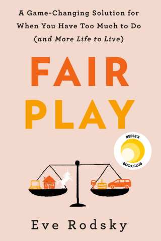 Reese Witherspoon's media company Hello Sunshine and P&G have partnered to bring New York Times Bestselling Author Eve Rodsky's first book, Fair Play, to new audiences. (Graphic: Business Wire)
