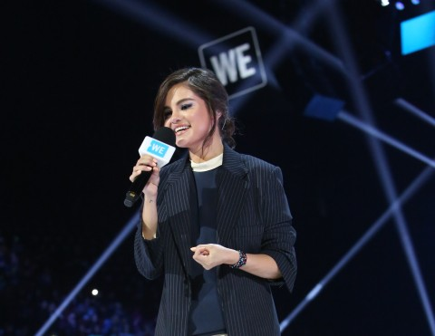 To kick off the Holiday Giving Season, philanthropic fashion retailer Olivela is proud to support the WE organization and its charitable ambassador Selena Gomez and others in its quest to raise up to $1,000,000 for a variety of important humanitarian causes. Photo Credit: The WE organization
