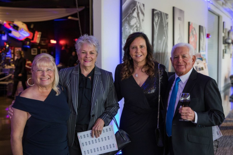 Tilly's Life Center Founder and President, Tilly Levine and her husband Larry with Lynn Thies and Dr. Adrienne Matros, Co-Vice Chair, Tilly's Life Center Board of Directors (Photo: Business Wire)