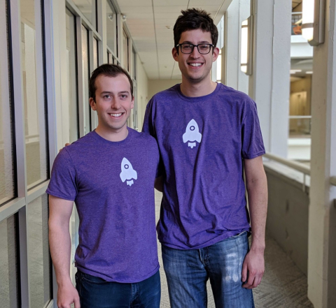 LogRocket founders Ben Edelstein and Matthew Arbesfeld (Photo: Business Wire)