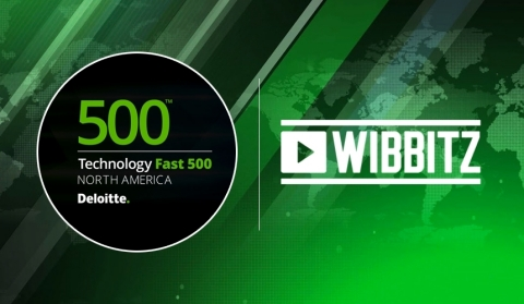 Wibbitz Ranked 8th on Deloitte's List of 500 Fastest Growing Technology Companies with 9,082.55% Revenue Growth (Photo: Business Wire)