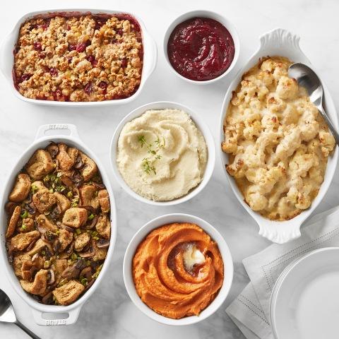 Martha Stewart Complete Thanksgiving Dinner for Williams Sonoma (Photo: Business Wire)