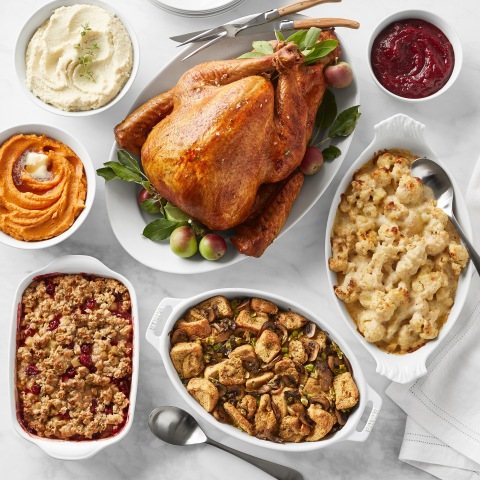 Martha Stewart Complete Thanksgiving Dinner for Williams Sonoma Available now on williams-sonoma.com (Photo: Business Wire)