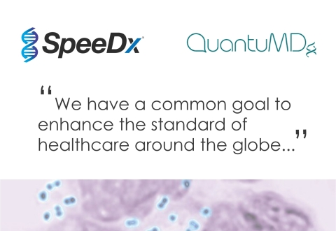 SpeeDx and QuantuMDx collaborate to assess the feasibility of developing low-cost point of care (POC) tests for common sexually transmitted infections (STIs). (Photo: Business Wire)