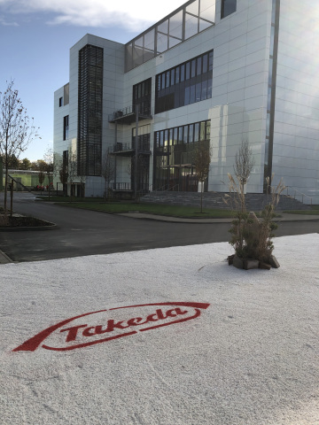Takeda's new dengue vaccine manufacturing plant in Singen, Germany. (Photo: Business Wire)