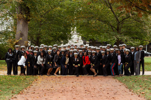The Naval Academy's First Annual Black Female Network Breakfast, October 26, 2019 (Photo: Business Wire)
