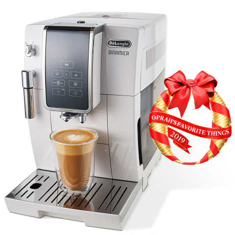 De'Longhi Dinamica Fully Automatic Coffee and Espresso Machine Selected as One of This Year's Oprah's Favorite Things (Photo: Business Wire)