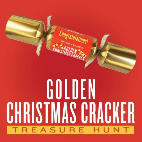Cost Plus World Market Kicks off the Holidays with its Golden Christmas Cracker Treasure Hunt (Graphic: Business Wire)