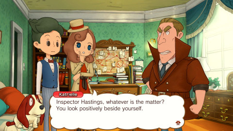Developed by LEVEL-5, the LAYTON'S MYSTERY JOURNEY: Katrielle and the Millionaires' Conspiracy – Deluxe Edition game allows players to take on the role of the keen and intuitive Katrielle Layton, the daughter of Professor Layton who unravels mysteries with confidence, panache and a customizable wardrobe to match. (Photo: Business Wire)