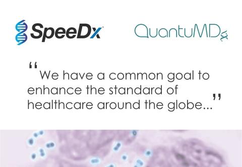 SpeeDx和QuantuMDx合作評估開發用於常見性傳染病(STI)之低成本定點照護(POC)檢驗的可行性。(照片:美國商業資訊)