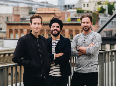 From Left to Right: Dylan Viner, Managing Partner; Daniel Arenas, Head of Design; and Sam Hornsby, CEO (Photo: Business Wire)