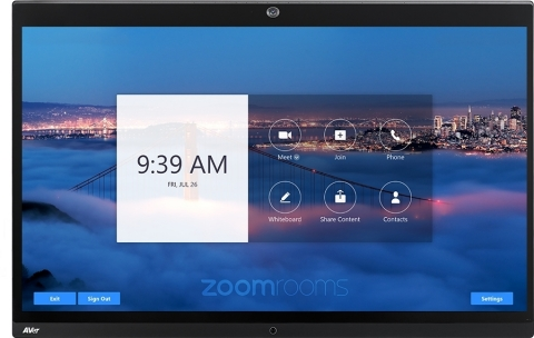 AVer EP65, the ultimate Zoom Rooms conferencing system (Graphic: Business Wire)