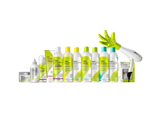 DevaCurl's product range includes cleansers, conditioners, styling products, styling accessories, and treatments. (Photo: Business Wire)