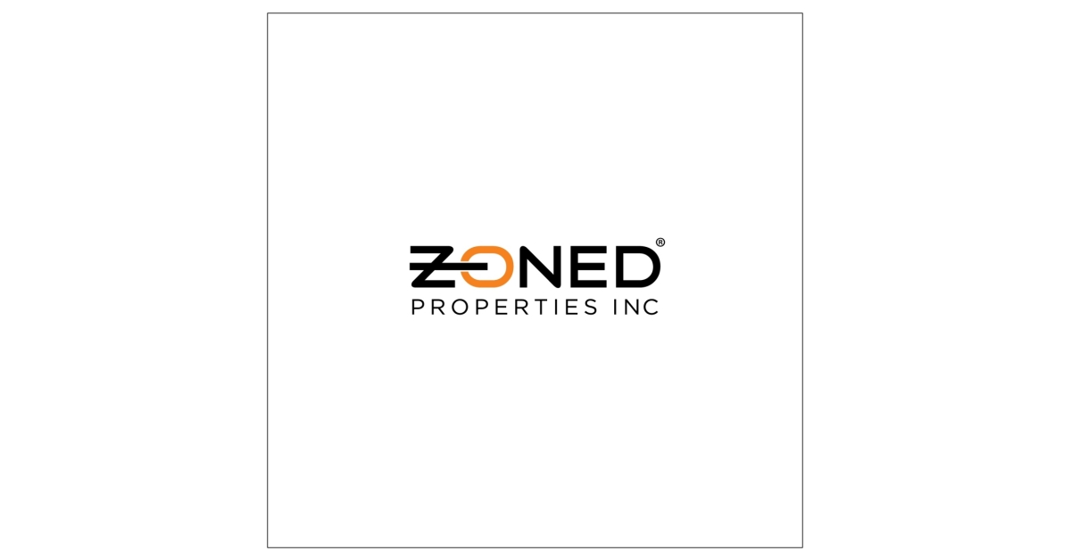 Zoned Properties Reports Third Quarter 2019 Financial Results