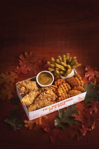 Hardee's Thanksgiving in a Box (Photo: Business Wire)