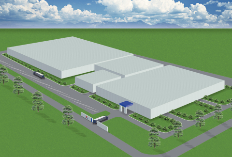 TGHP Thai Binh Plant (conceptual drawing after expansion) (Graphic: Business Wire)