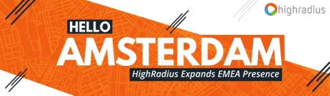 HighRadius Expands EMEA Presence to Amsterdam (Graphic: Business Wire)