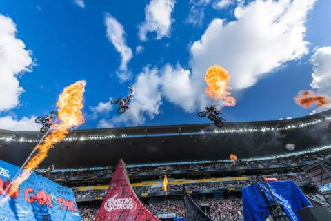 Nitro Circus is set to bring high-flying excitement to North America in Spring 2020 with the explosive You Got This tour. These real-life action heroes are sure to inspire fans of all ages as they push the limits with record-breaking attempts every night. (Photo: Business Wire)