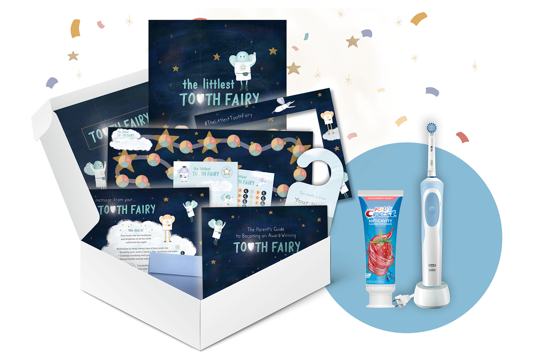 """P&G's Oral-B® and Crest® Launch """"Tooth Fairy in a Box"""