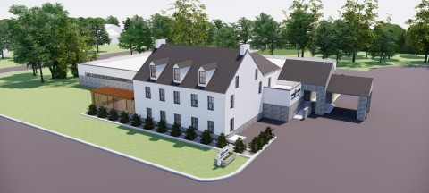 Joseph Levine & Sons is expanding, opening a new funeral home in Blue Bell, Whitpain Township, Montgomery County in the fall of 2020, and expanding the Haym Salomon Memorial Park in Frazer, PA. (Graphic: Business Wire)