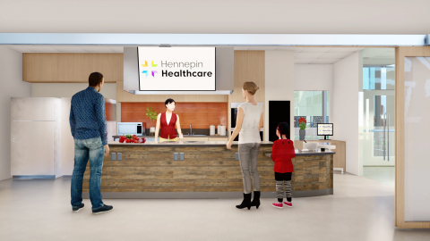 Redleaf Center for Family Healing, Teaching Kitchen, The Kitchen Table (Photo: Business Wire)