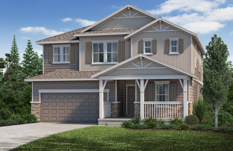New KB homes now available in Denver. (Photo: Business Wire)