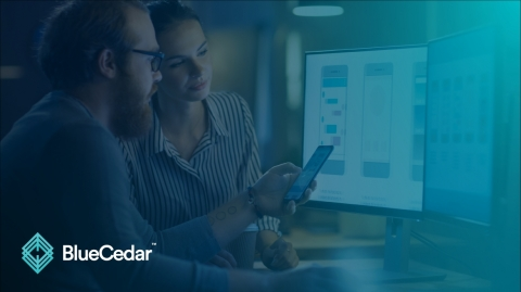 Blue Cedar enables developers to focus on innovation while ensuring app-level security and control with Microsoft Intune (Graphic: Business Wire)