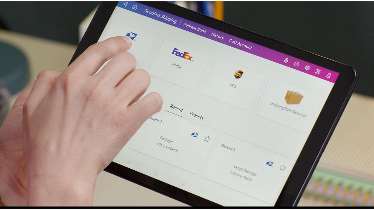 SendPro Tablet