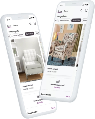 Wayfair Unveils New Mobile App Features, Makes Shopping for Home from Anywhere Easier Than Ever Before (Photo: Business Wire)