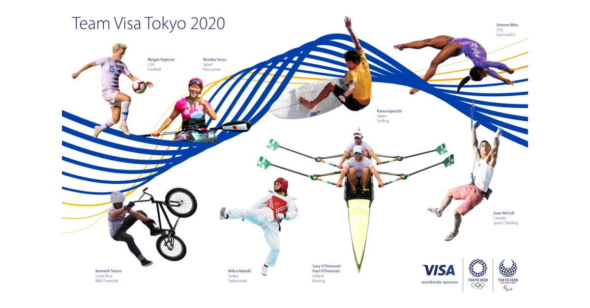 Visa Introduces Team Visa Roster Ahead of the Olympic and Paralympic Games Tokyo 2020 - Business Wire