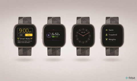 New Fitbit OS4.1 delivers updated smartwatch experience (Photo: Business Wire)