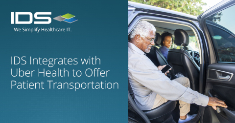 IDS Integrates with Uber Health to Offer Patient Transportation (Photo: Business Wire)