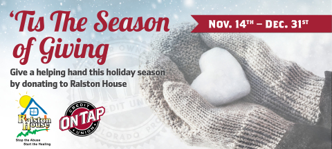 Give a helping hand this holiday season and join us in supporting Ralston House from 11/14 – 12/31. (Graphic: Business Wire)