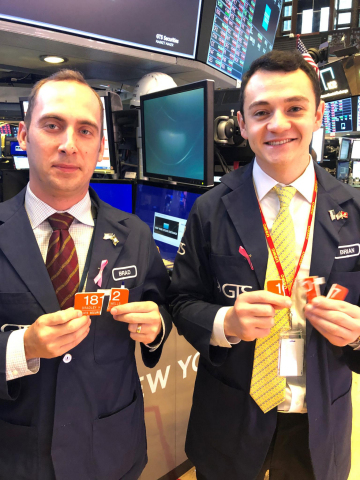 Bradley Wells and Brian Giannettino, two U.S. military veterans and GTS analysts, have completed the GTS Veterans Program. (Photo: Business Wire)