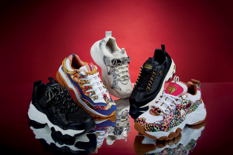 The Skechers Premium Heritage Limited Edition Holiday Collection drops around the world on November 15. (Photo: Business Wire)