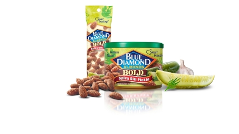 Blue Diamond Spicy Dill Pickle Almonds (Photo: Business Wire)