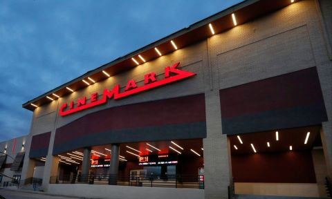 The Cinemark Central Plano theatre opens to the public on Nov. 14 with Luxury Lounger reclining seats, expanded food and beverage options, including beer, wine and frozen cocktails. Reserve your seats in advance at cinemark.com. (Photo: Business Wire)