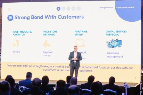 Turkcell Senior Management hosted the Capital Markets Day 2019 that consisted of presentations on the company's financials, operations and strategic focus areas for the next 3 years. (Photo: Business Wire)