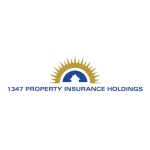 1347 Property Insurance Holdings, Inc. Announces Availability of 2019 Third Quarter Financial Results