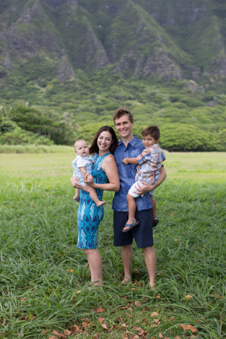 Hilton Hawaiian Village Team Member Tiffany King recently used Hilton's maternity leave policy to spend time with her newborn. (Photo: Business Wire)