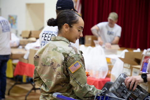Feeding Our Military (Photo: Business Wire)