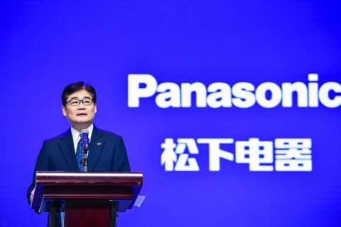 Tetsuro Homma, Senior Managing Executive Officer of Panasonic Corporation and CEO of China & Northeast Asia Company, speaking at CIIE 2019 (Photo: Business Wire)