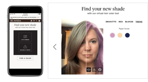 Perfect Corp. Partners with Aveda for the First-of-its-Kind Artificial Intelligence Hair Color Virtual Try-On Experience (Photo: Business Wire)