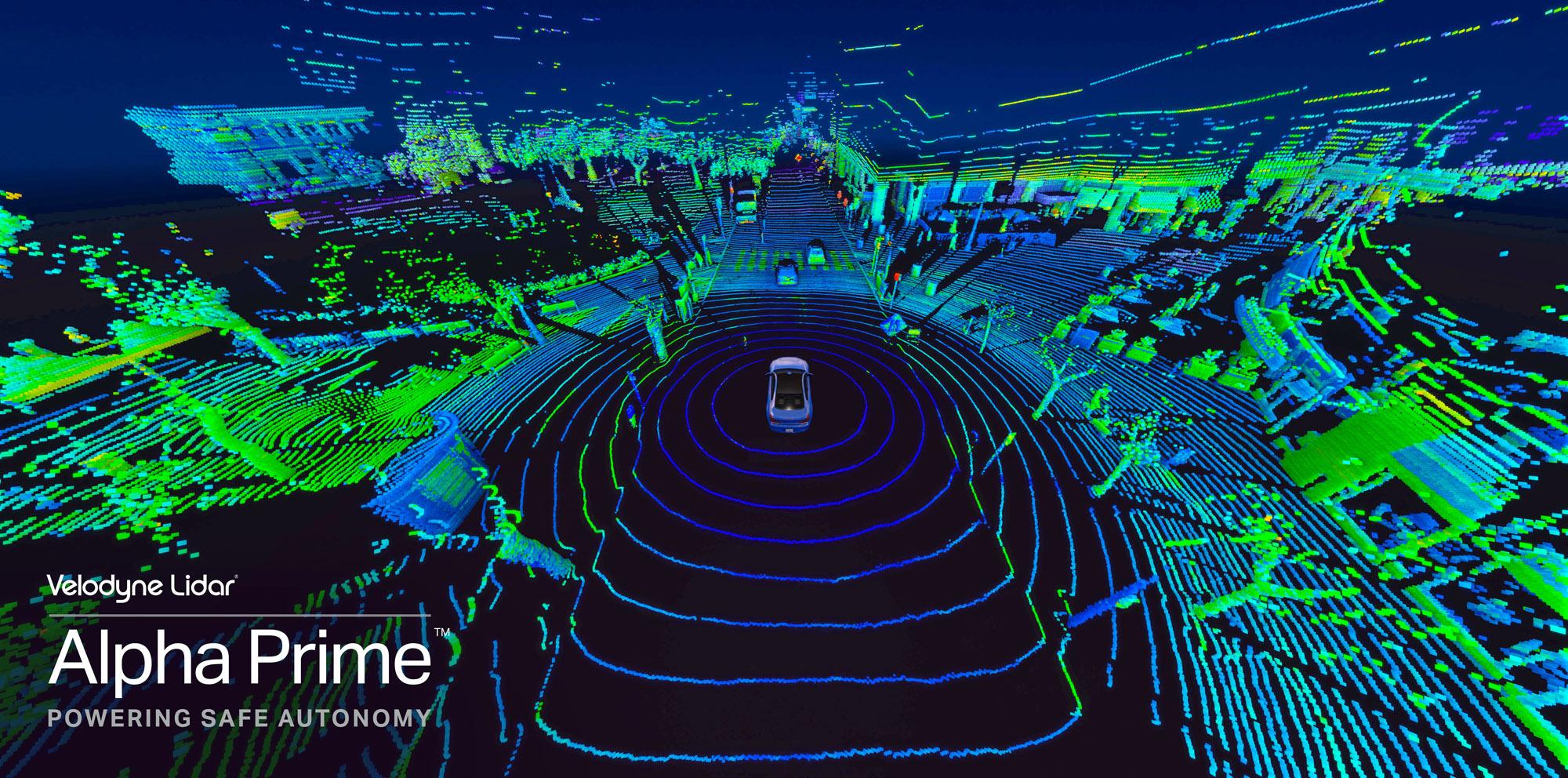 Velodyne Lidar presenta Alpha Prime™, el sensor Lidar más avanzado ...