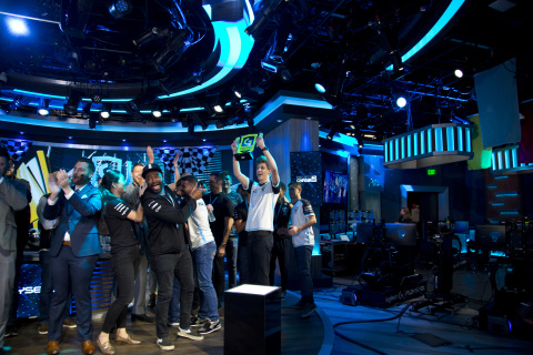 "Isaac ""VP Isaac21"" Gillissen, from Delft, Netherlands took the checkered flag in the Logitech G Challenge Grand Finals, held on November 16, 2019 in Las Vegas, Nevada. (Photo: Business Wire)"