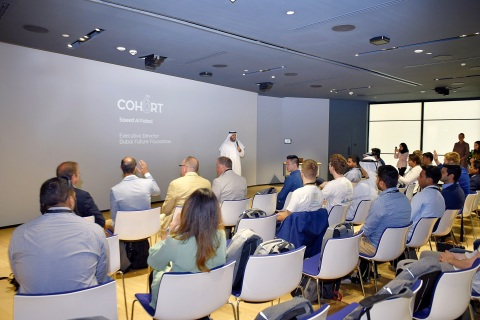 Dubai Future Accelerators convened participants to brainstorm innovative solutions at Cohort 6 (Photo: AETOSWire)