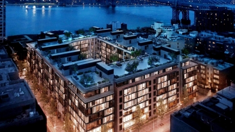 Certain Units in Oosten Condominium Brooklyn, New York to be Tokenized Through UPRETS (Photo: Business Wire)