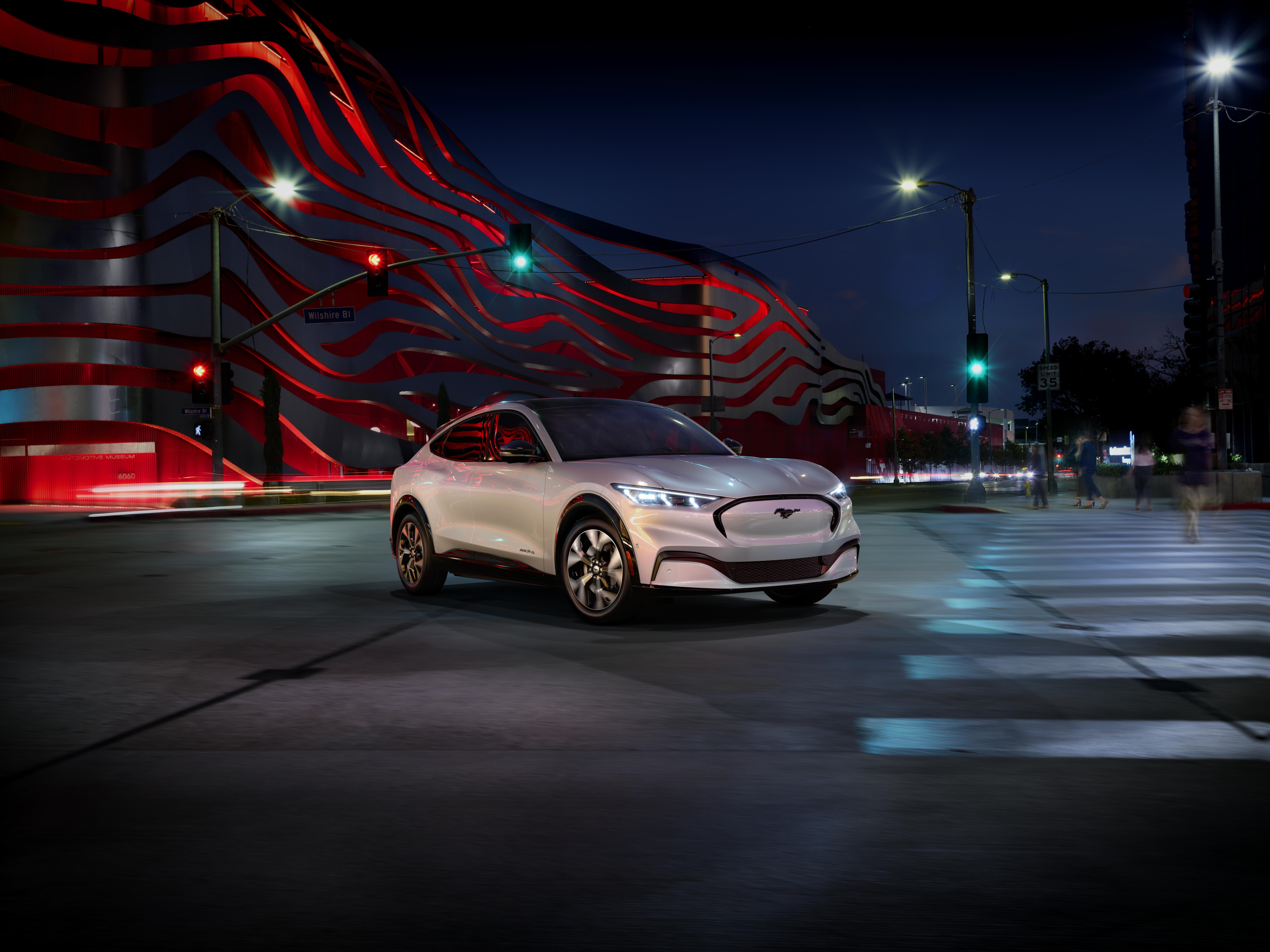 Ford Mustang Expands Family: All Electric Mustang Mach E